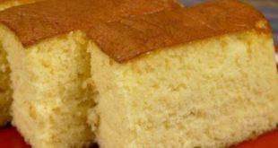 طريقة عمل الكيكة العادية بالصور , صور كيك شهية