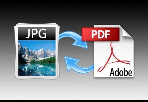 صورة تحويل صوره الى بي دي اف , تحويل JPG الى PDF