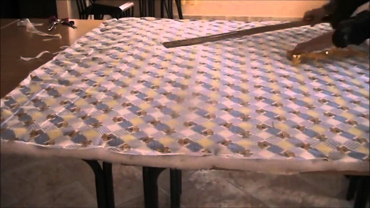 صورة كيفية خياطة قندورة , الخياطه البيتي للجلبيه الحريمي