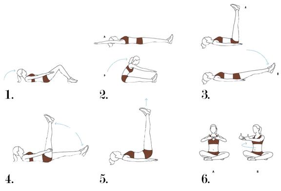 صورة تمارين للقضاء على الكرش , تمارين رياضية لشد البطن