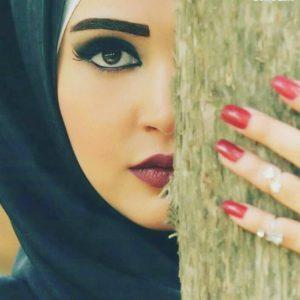 صور البنات المحجبات رمزيات محجبات ملونة عزه و ثقه