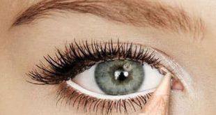 طريقة تكبير العيون بالمكياج , الحصول على عيون واسعه بالميك اب