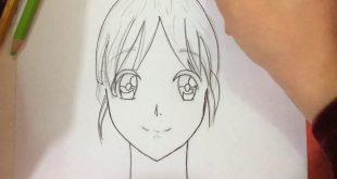 رسم بنت سهل , اسهل طريقه لرسم البنت