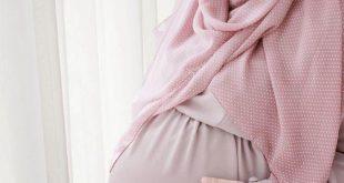 صور ملابس حوامل محجبات فى مصر , تالقي بملابس الحمل