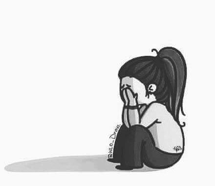 صور صور كرتون حزينة , صور مؤلمة جدا