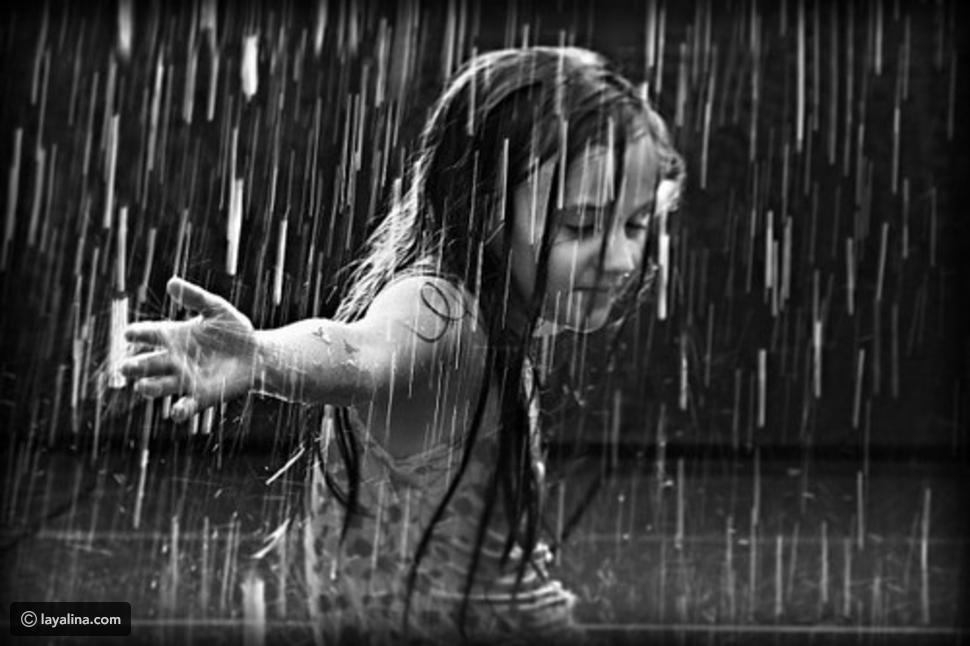 صورة صور اشخاص تحت المطر , صور للمطر في الشتاء