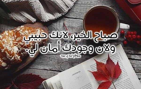 صورة صباح الخير حبيبى , احلى كلمات صباح للحبيب 2510 2
