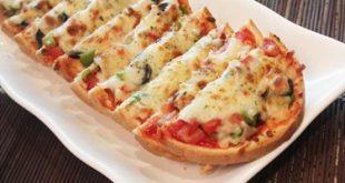 صور طريقة عمل البيتزا في الميكرويف , اسهل بيتزا بالميكرويف