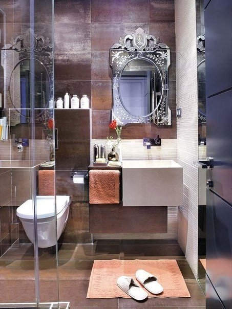 صورة حمامات مودرن صغيرة , مع ارقى حمامات مودرن صغيرة