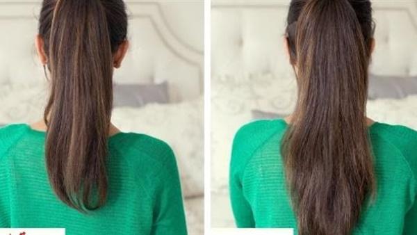 صورة حل لتطويل الشعر , االحل السريع والافضل علشان شعرك يطول