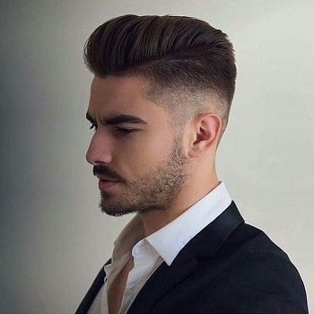 صورة قصات شعر رجالي قصير , مع قصات حديثة وجذابة