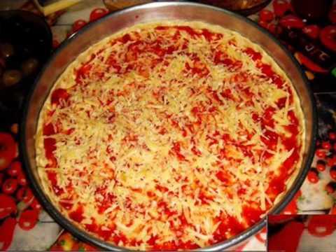 صورة طريقة عمل البيتزا الايطالية بالصور خطوة خطوة , بيتزا شهية جدا 439 3