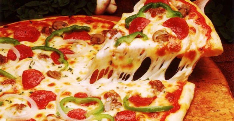 صورة طريقة عمل البيتزا الايطالية بالصور خطوة خطوة , بيتزا شهية جدا 439 7