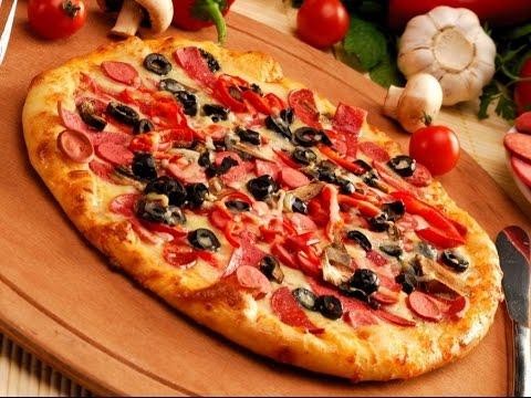 صورة طريقة عمل البيتزا الايطالية بالصور خطوة خطوة , بيتزا شهية جدا 439
