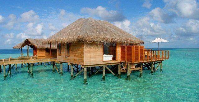 صورة صور بيت على البحر , منازل وسط البحر