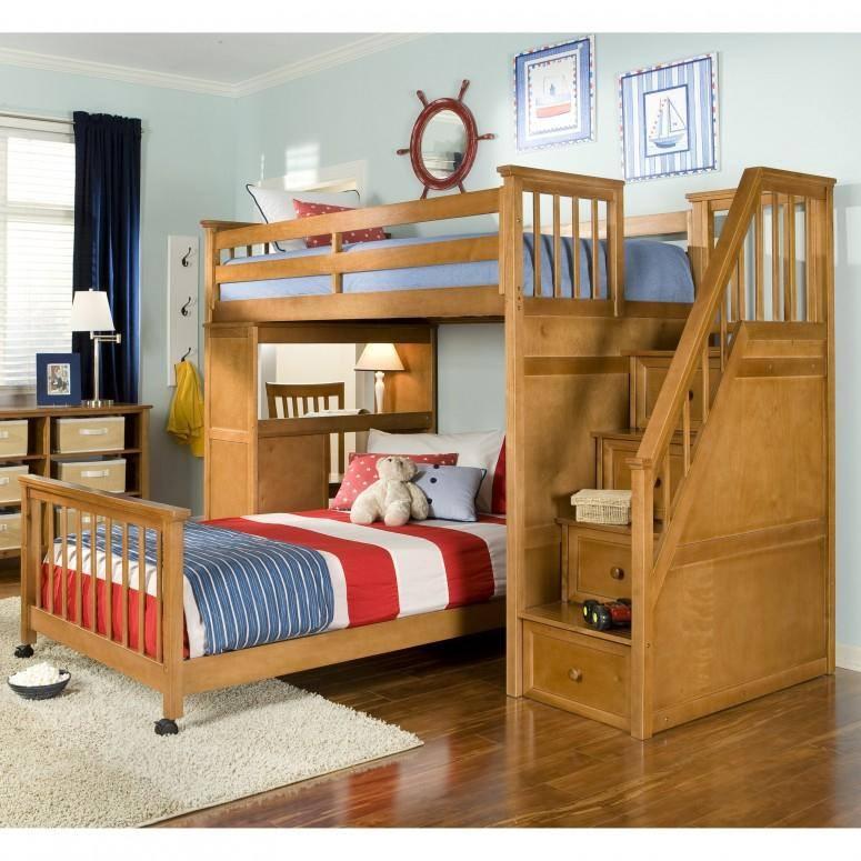 صورة صور سرير اطفال دورين , ديكورات غرف اطفال