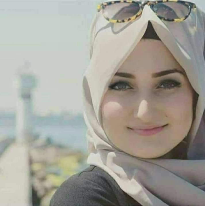 صورة صورة بنت متحجبة , بنت قمر بالحجاب