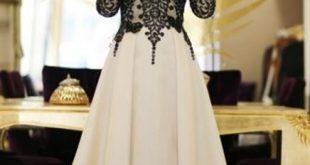 صور فساتين الخطوبة للمحجبات , اروع الفساتين مناسبة للمحجبات
