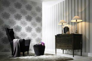 صورة ورق جدران رمادي , لون تحفة بجد لجدران منزلك