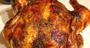 طريقة الدجاج المشوي بالفرن , تكات الدجاج المشوى فى الفرن