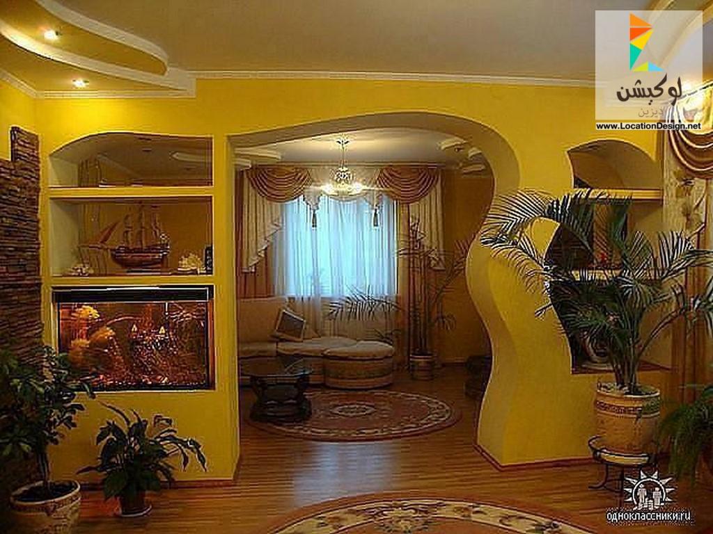 صورة ديكورات المنزل بالجبس , جمال بيتك في ديكوراتك