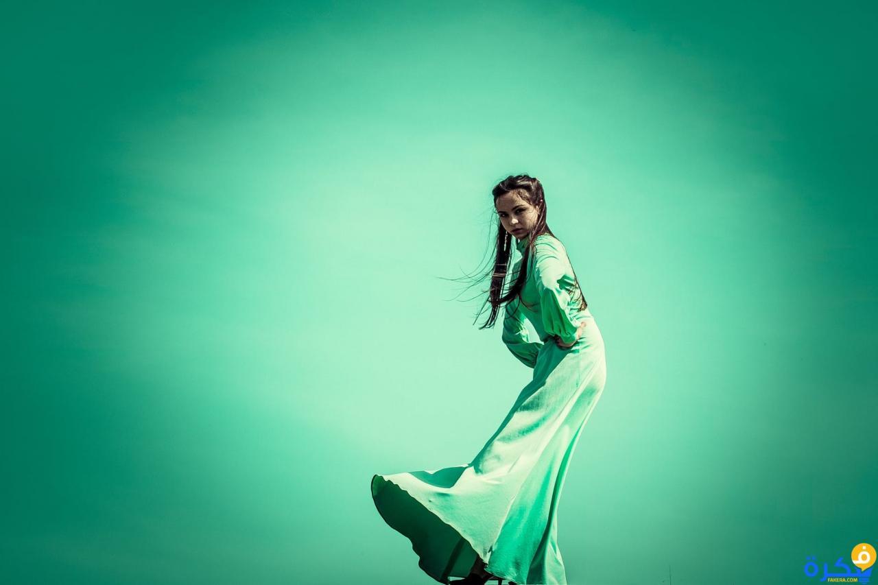 صورة تفسير حلم الجلباب الاخضر , رؤية العباية الخضراء في المنام