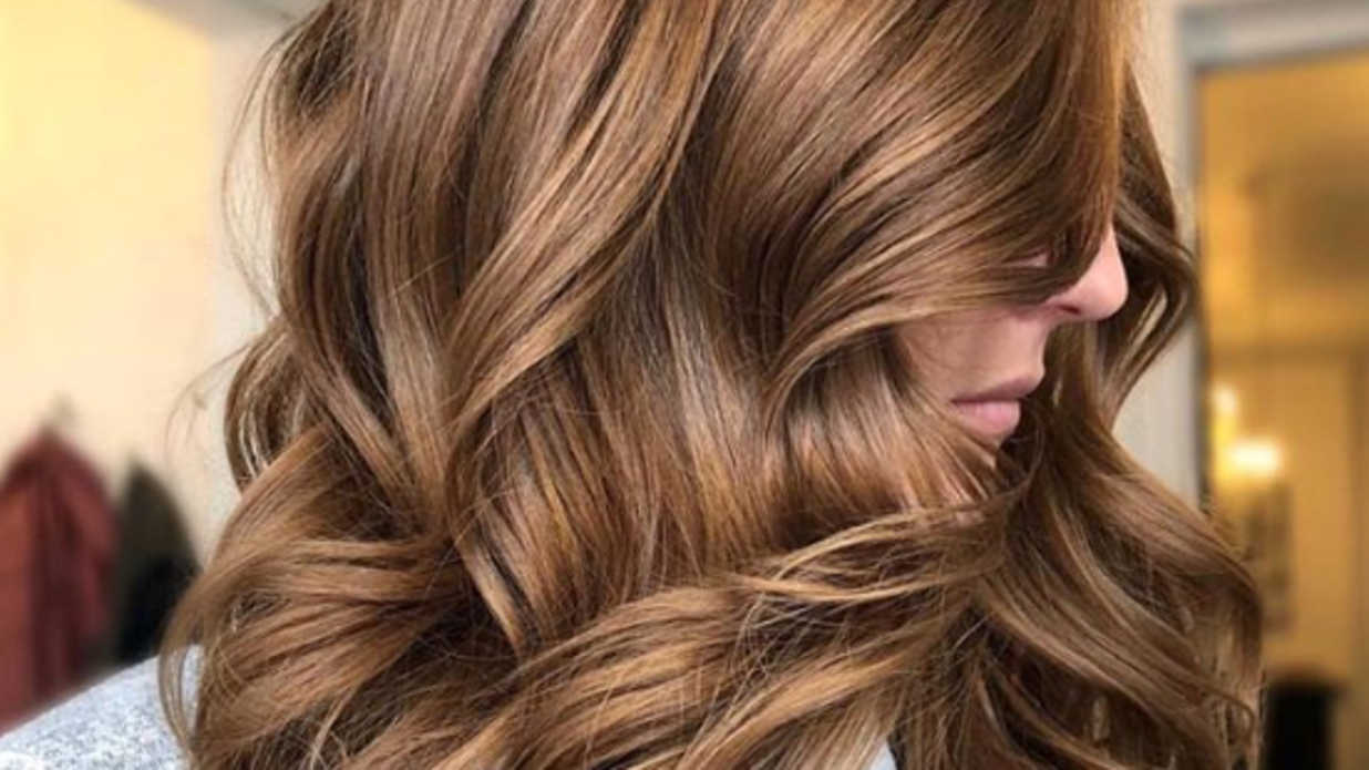 صورة احدث صبغات الشعر للبشره السمراء , الوان الصبغه للفتاه السمراء
