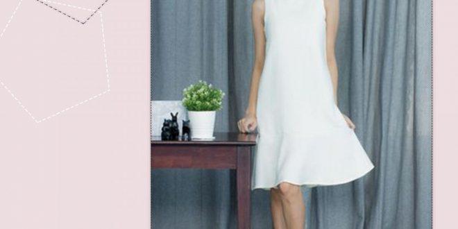 صورة فستان قصير ناعم , فساتين راقية وجميلة من الاخر تحفة