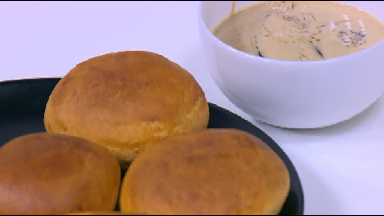 صورة اسهل فطور في بيتك , طريقة عمل القرص باللبن القاطع