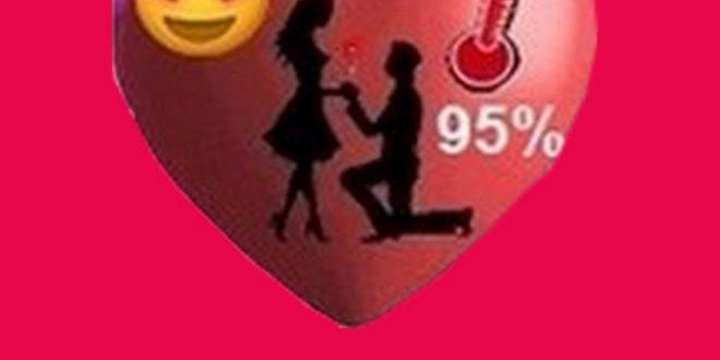 صورة قياس نسبة الحب , معرفه مدي حب الشخص الاخر