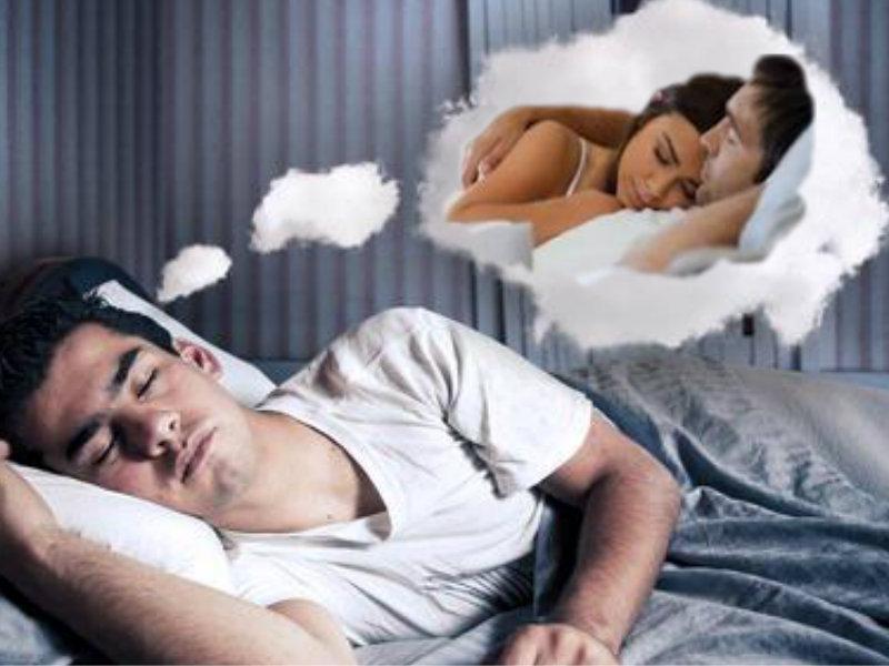 صورة هل الحلم بالجماع يوجب الغسل , حكم الحلم بالجماع