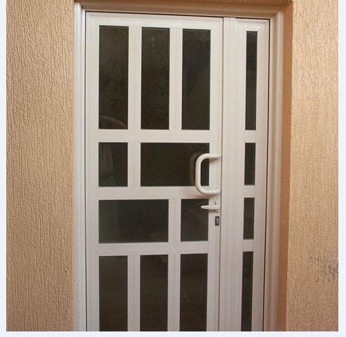 صورة باب الالمنيوم بالصوره , جمال الابواب الالمنيوم