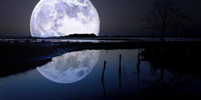 صورة صورالقمر صور روعه , متى يكون القمر بدرا