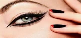 صورة طريقة رسم العين بالكحل , امنحي عينك اشكال مختلفة وجذابة من خلال تقنية الكحل