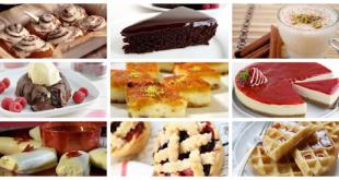 صورة طرق حلوة بسيطة مثل المحلات الكبيرة , طبخ الحلويات السهلة