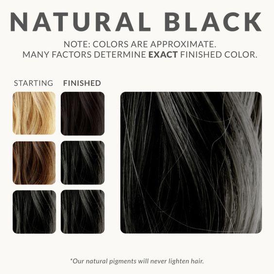 صورة لم تري طريقة لصبغ الشعر بالحنه مثل تلك , طريقة عمل الحنة السوداء للشعر الابيض