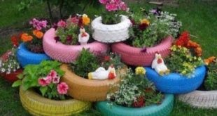 حدائق منزليه صغيره بديكورات سهله وبسيطه , ديكورات حدائق بسيطة