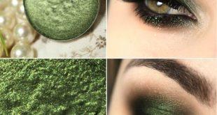 مكياج العيون اجمل ما يميز البنت , مكياج عيون اخضر