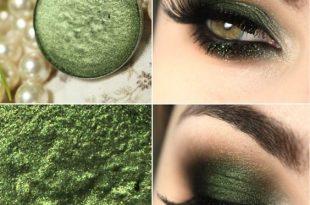 صورة مكياج العيون اجمل ما يميز البنت , مكياج عيون اخضر
