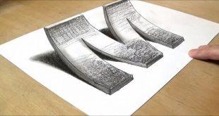 كيفية رسم 3d