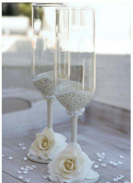 صورة تزيين كاسات العروسين 3005 1