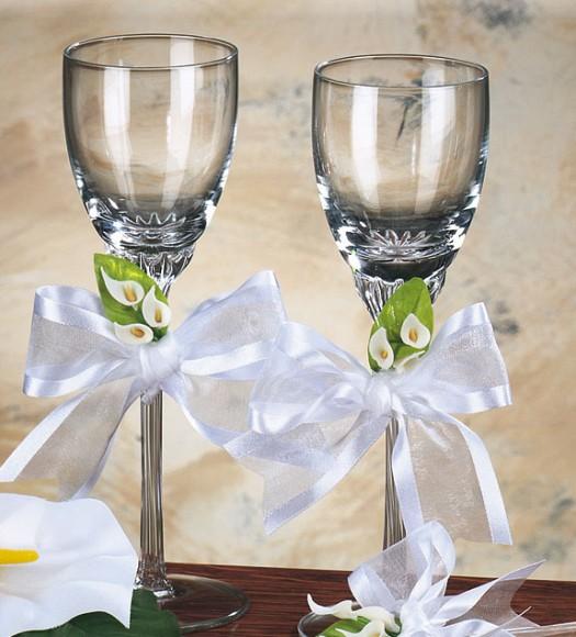 صورة تزيين كاسات العروسين 3005 6