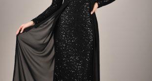 وااو لن اري في جمال الفساتين السورية السوداء , فساتين سواريه سوداء